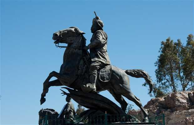 Equestrian statues, Cerro de La Bufa