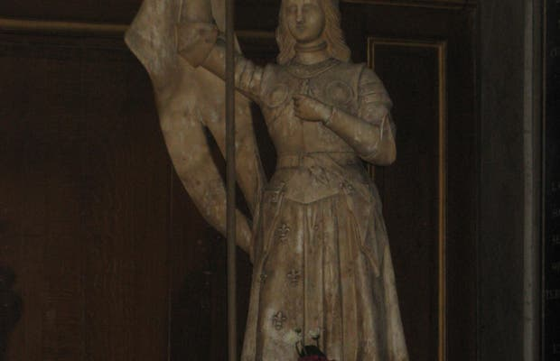 La statue Jeanne d'Arc