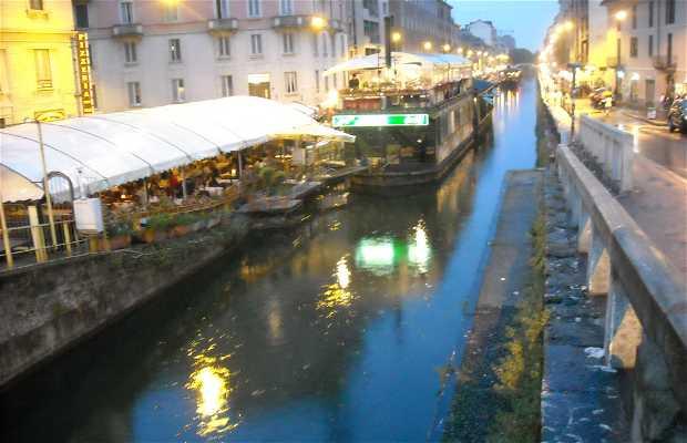 Naviglio Grande a Milano