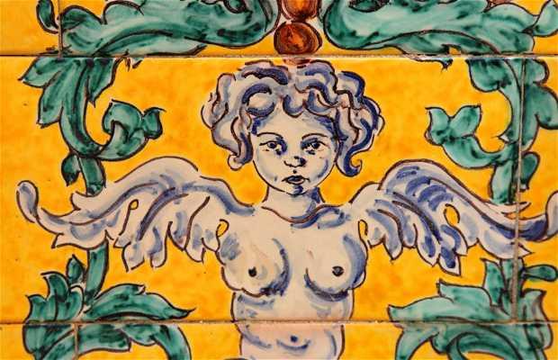 Céramiques de la Place d'Espagne