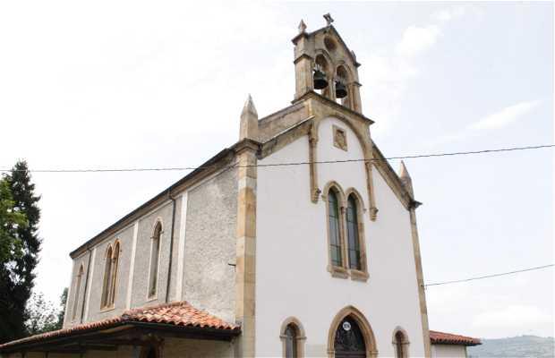 Iglesia de San Andrés de Cuenya