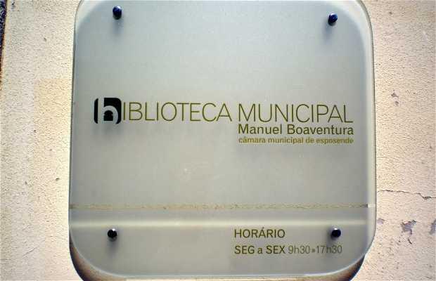 Biblioteca Municipal Manuel Boaventura (Casa do Arco)