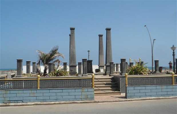 Monumento a los Caídos en Pondicherry