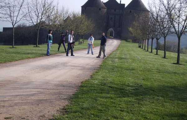 Castillos cerca de Cluny