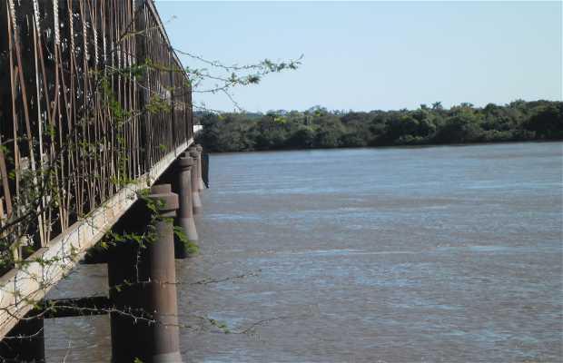 Ponte sobre o Rio Ibicui