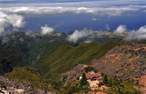 Ascensión al Pico Ruivo