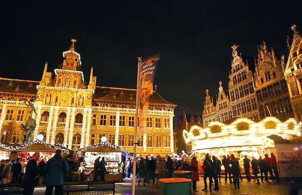 Mercado navideño de Amberes