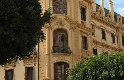 Palacio de la Tinta a Malaga