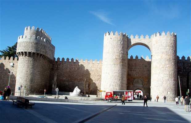 Puerta del Alcázar o del Mercado Grande
