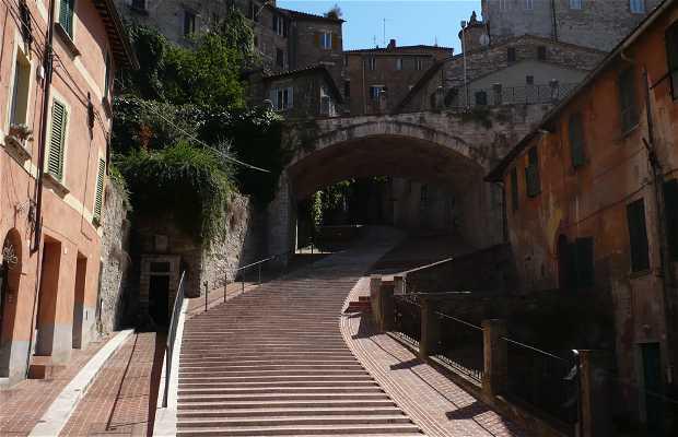 Escaleras de Perugia