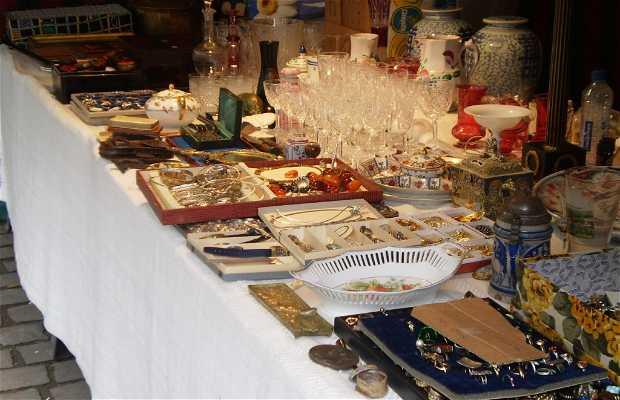 Mercadillo de antigüedades de Sablon