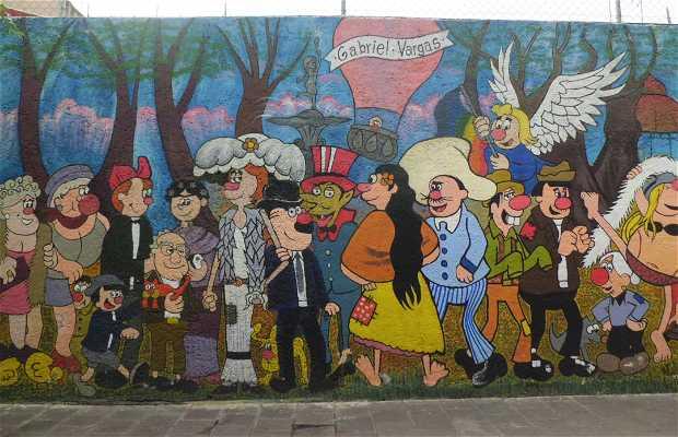 Mural de la Familia Burrón
