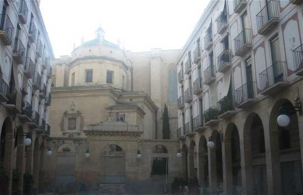 Las Peixateries Vellas square