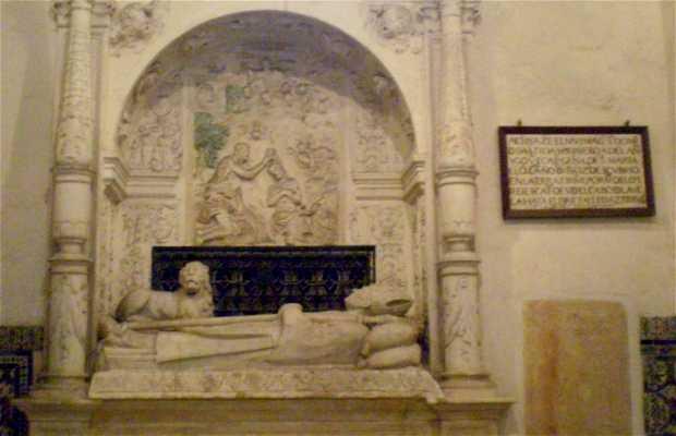 Tomba di Rodrigo de Bastidas a Santo Domingo