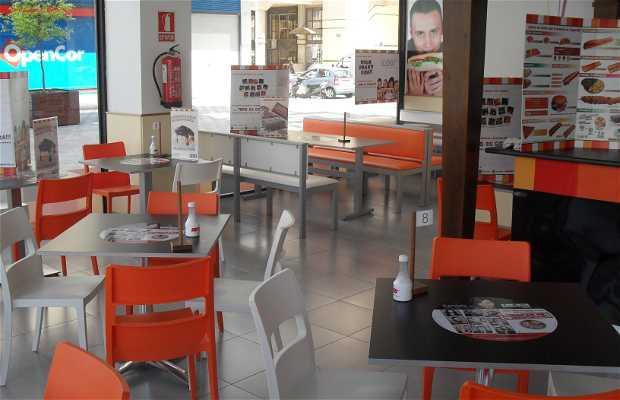 Restaurantes Gigantes Brutus Elche Centro