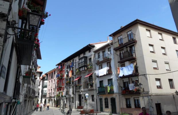 Lekeitio old city