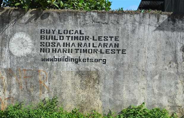 Lospalos,Village Timor Est