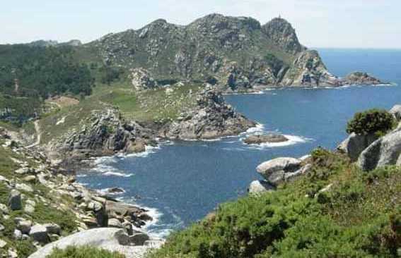 El Parque Nacional de Las Islas Atlánticas en Galicia