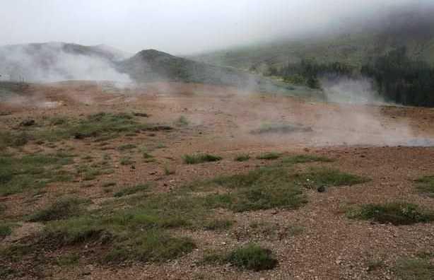 Area Geotermal de Hveragerdi