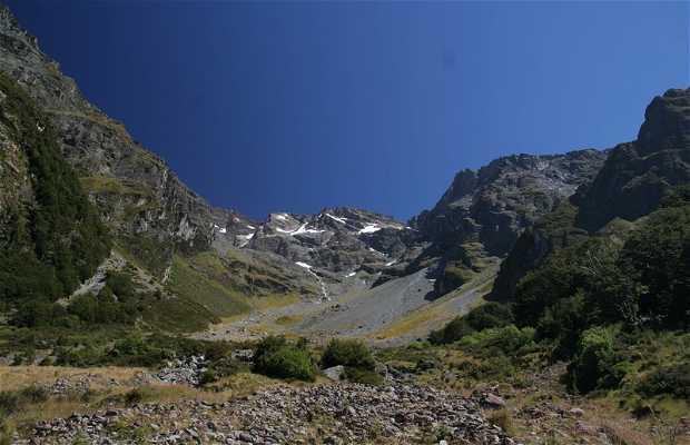Trekking sul Glacier Burn