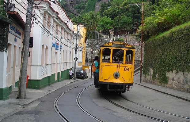 El 'Bondinho' (barrio de Santa Teresa)