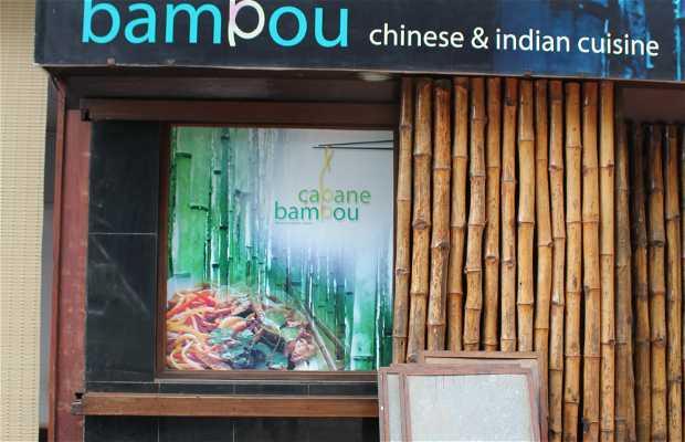 Cabane Bambou. Chinese & Indian cuisine