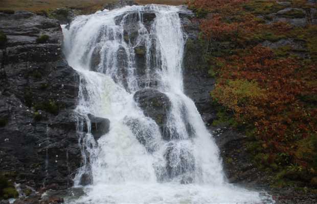 Cascadas de Glen Coe