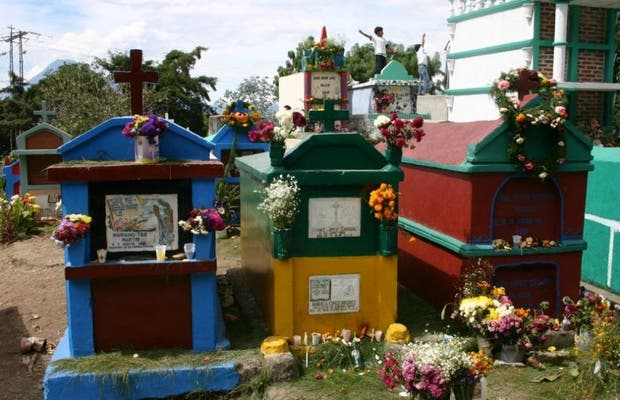 Festa dos Mortos na Guatemala