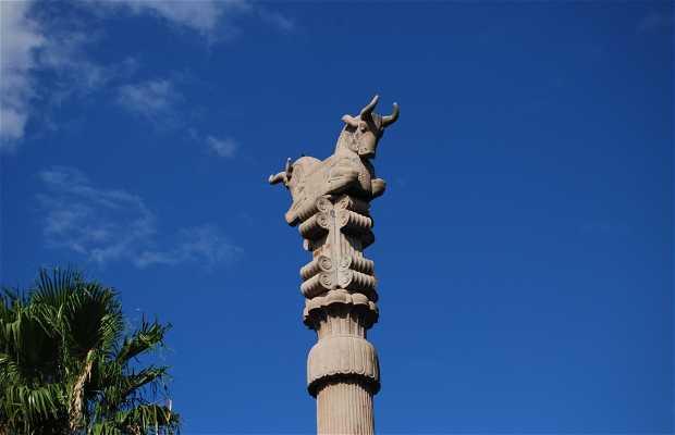 Columna del Templo Persa (Jardines de Palermo)