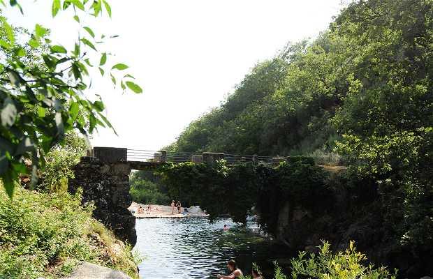 El Parral bridge pond