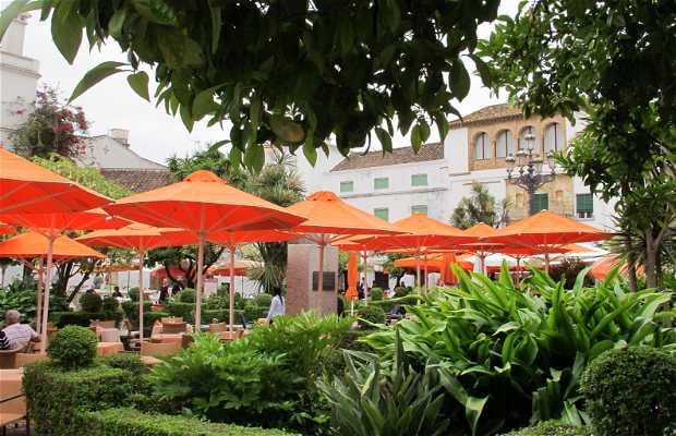 Piazza de los Naranjos a Marbella