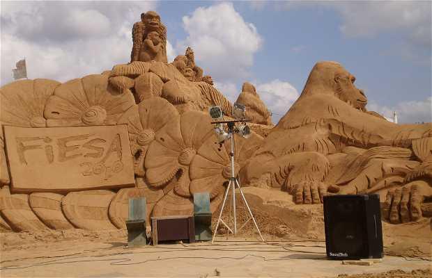 Festival international Sculpture sur sable
