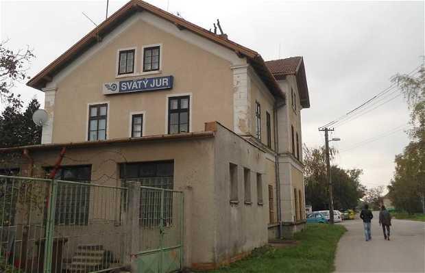 La gare de Svaty Jur