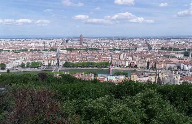 Viewpoint of Lyon (Basílica of Notre-Dame de Fourviére)