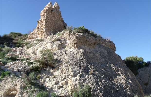 Ruinas castillo árabe de Tibi