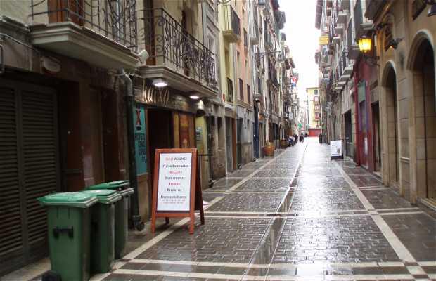Calles de San Nicolás y San Gregorio