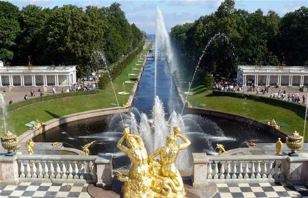 Jardines del Palacio de Peterhof