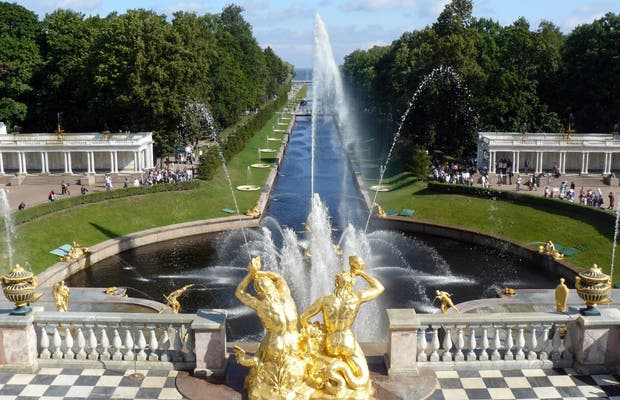 Jardins do Palácio de Peterhof