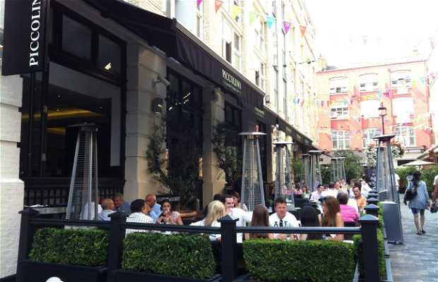 Piccolino heddon street londres 1 exp riences et 2 photos for Piccolino hotel decor
