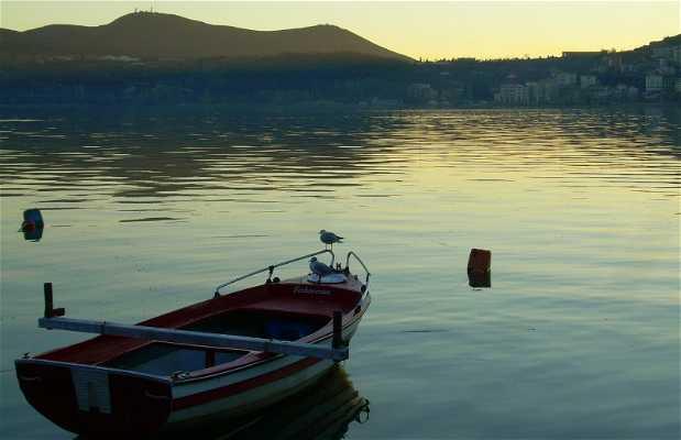 Le lac Orestiada