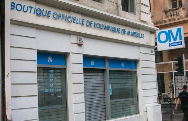Boutique officielle de l'Olympique de Marseille