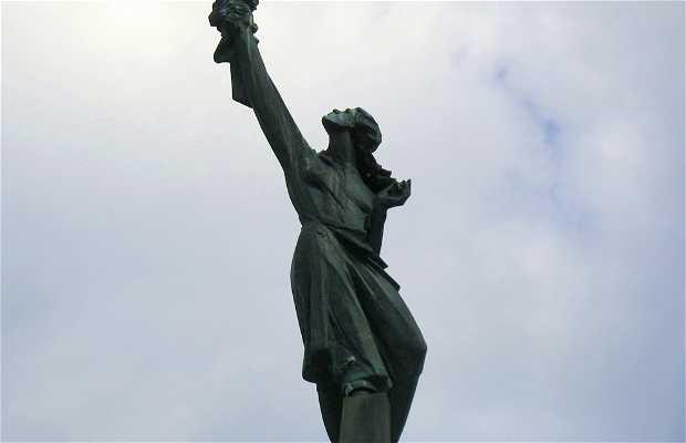 Memorial de la victoria del ejercito soviético sobre el fascismo
