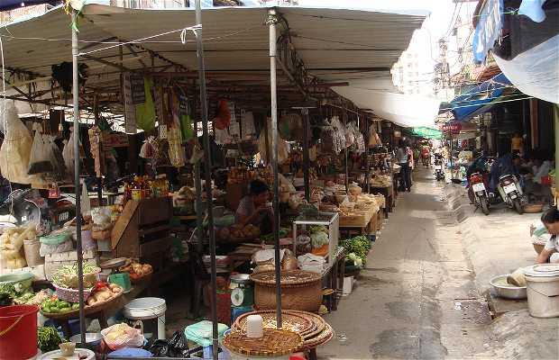 Mercados de rua de Hanoi