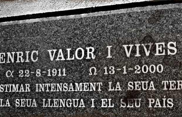 Tumba de Enric Valor