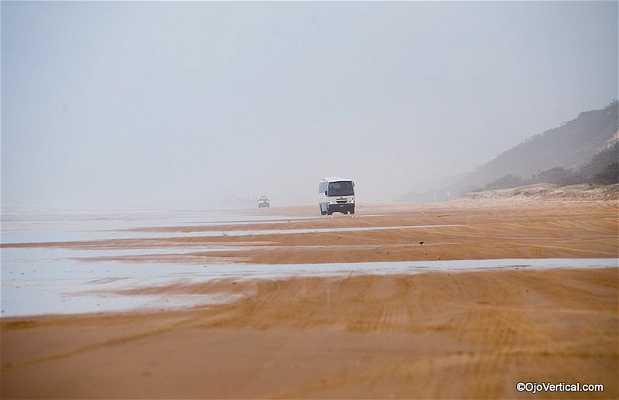 Autopista de arena de Fraser Island