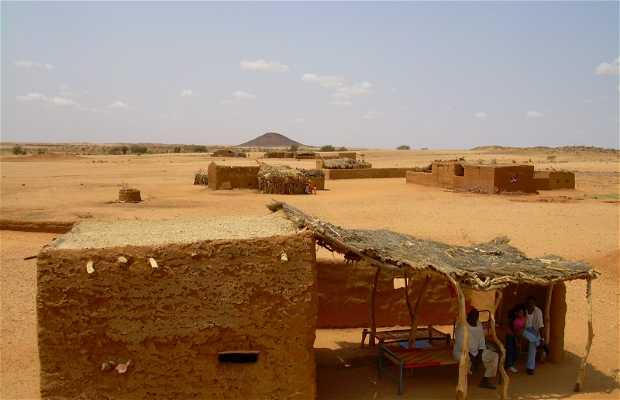 Pueblos del desierto de Sudán