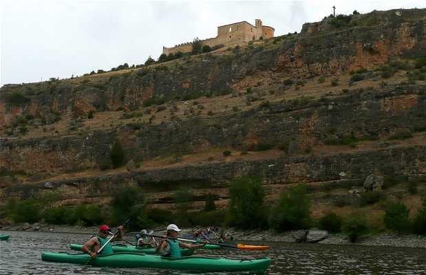 Canoas em Las hoces del Duratón