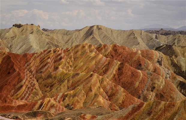 Le Montagne Colorate di Zhangye Danxia