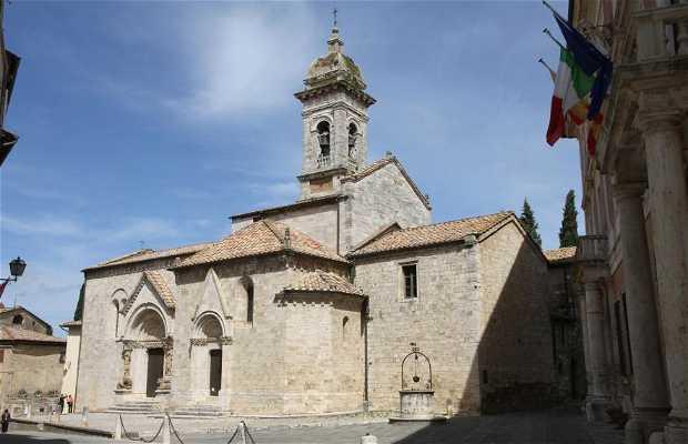 Catedral de San Quirico de Orcia