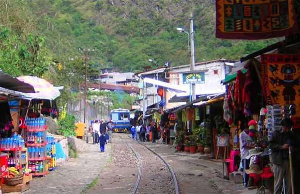 Estación de trenes de Aguas Calientes, Machu Picchu